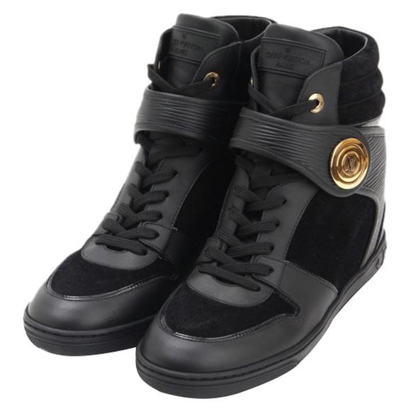Louis Vuitton Postmark Wedge Sneaker